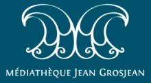 Logo de la Médiathèque Jean Grosjean